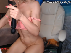 Venice live camera with hot blonde cougar